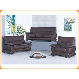 ~沙發世界 ~紅咖啡半牛皮沙發組~ 破盤價,到店 禮〈S689174~1〉沙發椅子 休閒沙