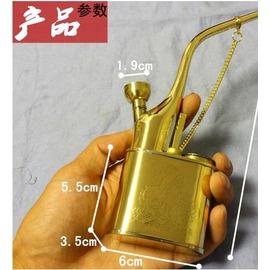 金泰水煙鬥銅質水煙壺便攜老式水煙袋