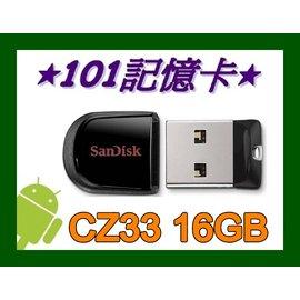 101~ 貨 Sandisk 16G 16GB CZ 33 Cruzer Fit USB