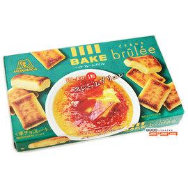 【吉嘉食品】日本 森永BAKE烤布蕾1盒10入37公克80元{4902888223006:1}