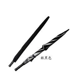 30英吋超輕雙層通風高爾夫球傘 銀黑色 手開.纖維骨~蓁蓁大賣場~超大傘面.傘面不會翻