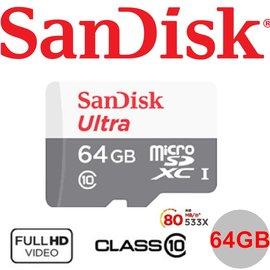 101~Sandisk Ultra 64G 64GB microSD microSDXC