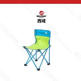 探險家露營帳篷㊣WCHF-96801SG 西域Westfield (藍/綠主色)輕巧無扶手折疊椅 摺疊椅 休閒椅 折疊椅 折合椅 樂活椅