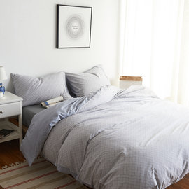 ~PAINT~北歐風格,紳士從容,精梳棉,雙人床包,兩用薄被套四件組 A010127170
