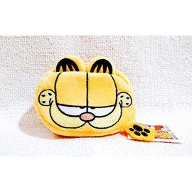 台北加菲貓 Garfield ~ 原單非常 版大容量拉鍊零錢包 手機耳機包等^(萬用款^)