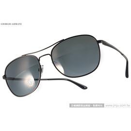 GIORGIO ARMANI 太陽眼鏡 GA6021 300187  黑  率性男仕 款