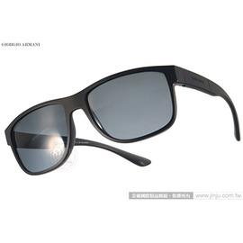GIORGIO ARMANI 太陽眼鏡 GA8057 536781 ^(黑^) 男仕 百搭