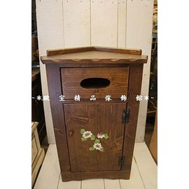 ^~~歐室 傢飾館~^~ 鄉村風格 實木 彩繪 角落櫃 轉角櫃 置物櫃 花台^~ 上市^~