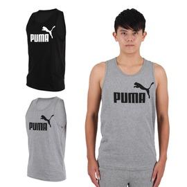 PUMA 男Logo休閒背心(路跑 健身 訓練【03312408】≡排汗專家≡
