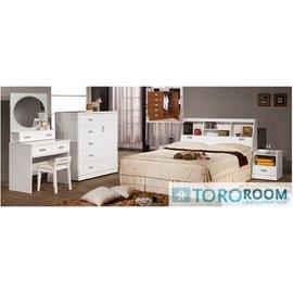 ~TORO~凱迪6尺白色床頭箱 ^(F~313^)