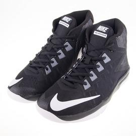 NIKE  AIR DEVOSION BG 大童籃球鞋-黑/白 845081001