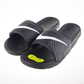 NIKE  BENASSI SOLARSOFT 運動拖鞋-黑 831171010
