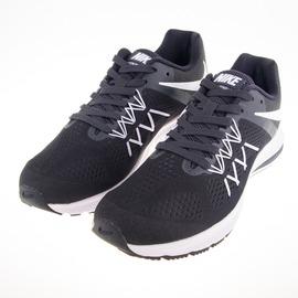 NIKE  ZOOM WINFLO 3 慢跑鞋-黑/白 831561001