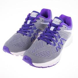 NIKE  女 ZOOM WINFLO 3 慢跑鞋-灰紫 831562005