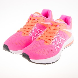 NIKE  女 ZOOM WINFLO 3 慢跑鞋-粉/橘 831562600