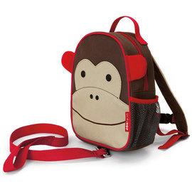 【美國Skip Hop】附防走失繩兒童後背包-猴子