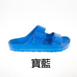 AIRWALK EVA 休閒雙扣環室內外拖鞋 -(A535220182) 寶藍 非BIRKENSTOCK