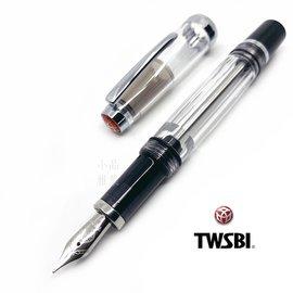 小品雅集 臺灣 TWSBI 三文堂 VAC mini 負壓上墨 半黑半透 鋼筆