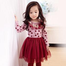 ~捷比 ~wonBoRn~JW568004~氣質金蔥荷葉紗領蓬蓬洋裝~二色