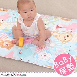 卡通印花寶寶三層防水隔尿墊 嬰兒床墊 60x90【HH婦幼館】