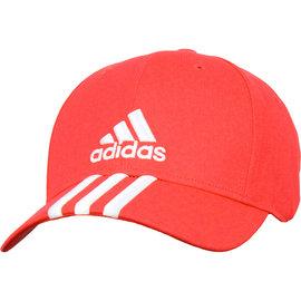 ADIDAS 休閒 運動 運動帽 AY4842 -橘紅