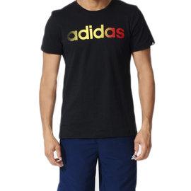 Adidas~ ClimaLite系列 棉質 短T恤-黑 (AY7197)