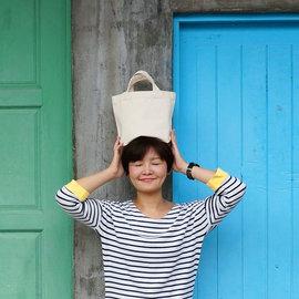 ~Doabag做個包~鄰家女孩 素面帆布便當袋 袋 環保袋 帆布袋 DIY蝶谷巴特