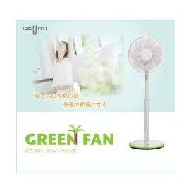 ~ 品~ IZUMI_12吋節能靜音薄型扇^(綠^)TDF~100G~ 3280 品 99
