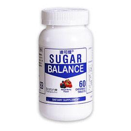 美國SugarBalance 速可擋 半乳糖甘露聚糖咀嚼片 60片