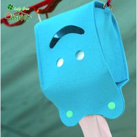 大林小草~【OT867277SK】Ridge Line 彩色微笑面紙盒 - 天藍-【國旅卡】