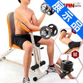 第二代怪力重量訓練機 C080-6007--Z2 (展示品)躺舉坐舉重床舉重機.重力訓練機.仰臥起坐板仰臥板.仰板.仰臥起坐健身器材.運動健身器材