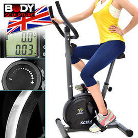 【BODY SCULPTURE】有氧磁控健身車 C016-154 (立式健身車.室內腳踏車自行車.飛輪車飛輪式美腿機.運動健身器材.推薦哪裡買ptt)