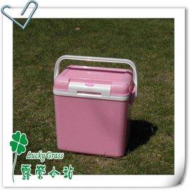 大林小草~【M-8128】日本鹿牌 CAPTAIN STAG M-8128 鹿王日本原裝保冷冰箱冰桶8公升((粉紅色))-【國旅卡】