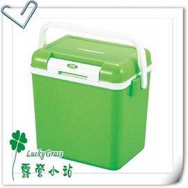 大林小草~【M-8127】日本鹿牌 CAPTAIN STAG 鹿王日本原裝保冷冰箱冰桶8公升 綠色-【國旅卡】