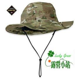 大林小草~【82132】美國OR(Outdoor Research)GTX 防水透氣盤帽(迷彩)美軍限定 遮陽帽