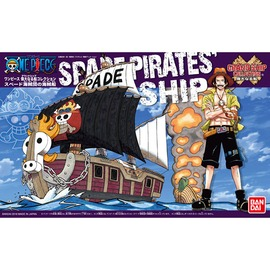 ~BANDAI~航海王 模型 偉大之船 火拳艾斯 黑桃海賊團海賊船 12