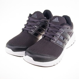 ADIDAS  輕量 透氣 慢跑鞋-黑/灰/白 S79830