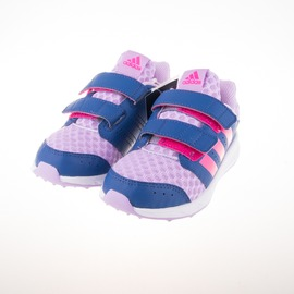 ADIDAS  黏扣 兒童慢跑鞋-桃/紫 AF4533