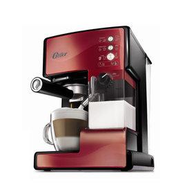美國OSTER 奶泡大師義式咖啡機 BVSTEM6602R PRO升級版 紅色款 ◤咖啡豆◢