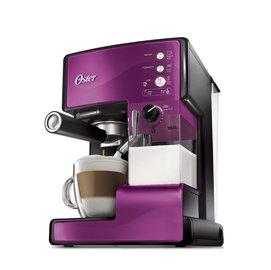 美國OSTER 奶泡大師義式咖啡機 BVSTEM6602P  PRO升級版 紫色款 ◤贈咖啡豆◢