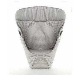 【紫貝殼】『BA04-6』美國正品 Ergo Baby ergobaby Infant Insert 爾哥揹巾用 心型嬰兒保護毯/愛心保護毯(無安全帶)【天然棉 - 灰色】