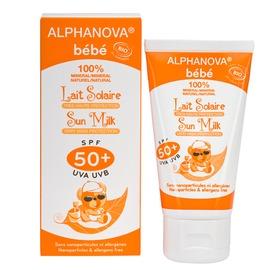 法國Alphanova艾蘿若華寶貝 高效 防曬乳SPF50 Alphanova bebe