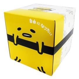 蛋黃哥日製玉子燒 方形盒裝抽取面紙 衛生紙