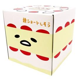 蛋黃哥日製蛋糕 方形盒裝抽取面紙 衛生紙