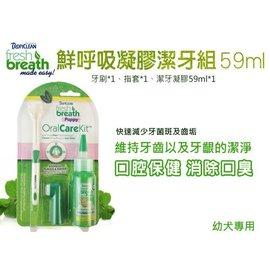 ~1399~~Fresh breath 鮮呼吸凝膠潔牙組~幼犬  減少牙菌斑及齒垢 ^(8