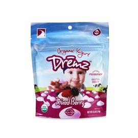 Dremz佑爾康金貝親_有機嬰兒優格餅^(綜合果莓^) Dremz Real Yogurt