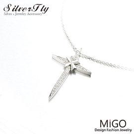 ~ SilverFly銀火蟲銀飾 ~守護白鋼真鑽女鍊 MIGO SN718