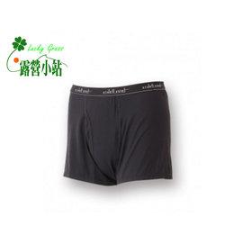 大林小草~【W1680-54-黑色】WildLand 荒野 男透氣排汗開洞四角褲-【國旅卡】