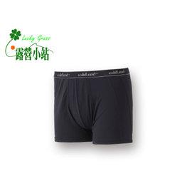 大林小草~【W1682-54-黑色】WildLand 荒野 男透氣排汗四角內褲-【國旅卡】