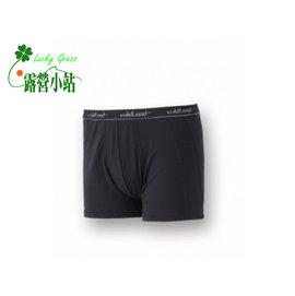 大林小草~【W1682-55-黑色】WildLand 荒野 男透氣排汗四角內褲-【國旅卡】